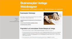 Preview of businessplan-webdesigner.de