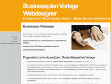 Tablet Preview of businessplan-webdesigner.de